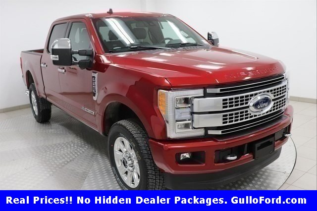 New 2019 Ford F-250SD Platinum With Navigation & 4WD